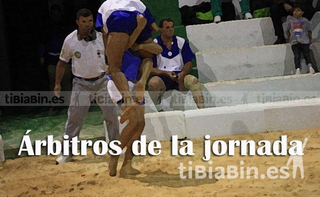 Árbitros de la jornada (Liga Cabildo de Fuerteventura)