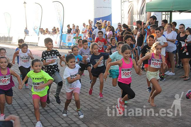 La Tinajo YouTrail arrancó con la carrera de los más pequeños