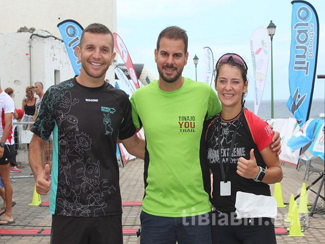 Javier Sosa e Ildiko Biro, ganadores de la I Tinajo YouTrail