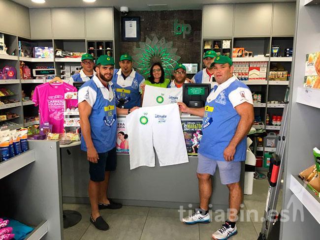 El Unión Tetir visita a algunos de sus patrocinadores