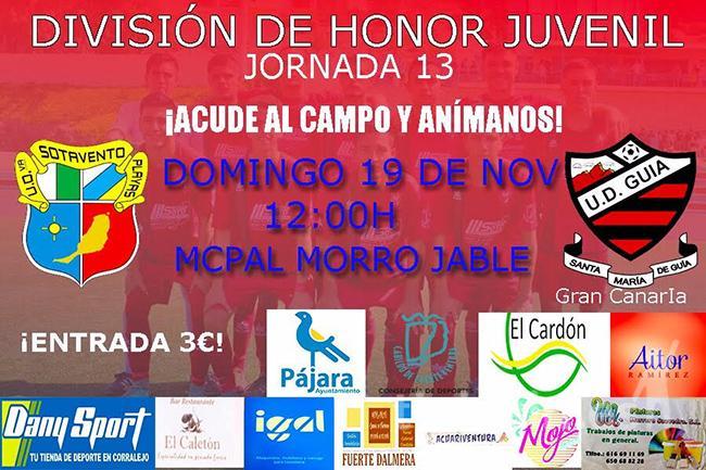 Cartel División de Honor Juvenil