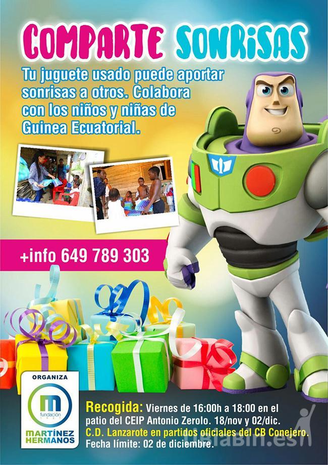 El CB Conejero y la Fundación Martínez Hermanos inician una campaña de recogida de juguetes