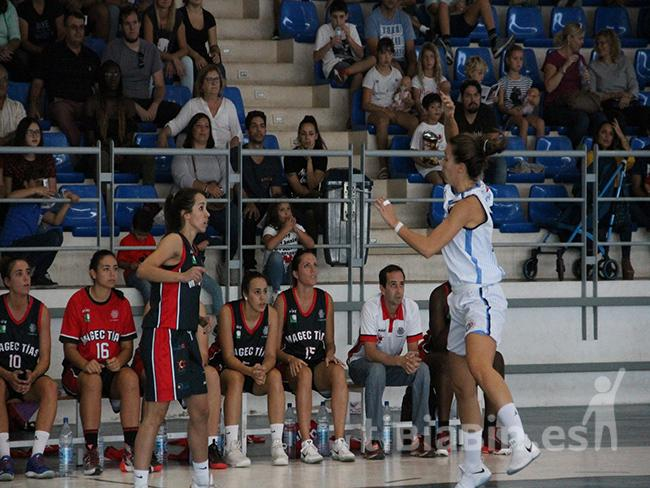 El CD Magec Tías cayó ante el Distrito Olímpico en el último minuto (60-62)