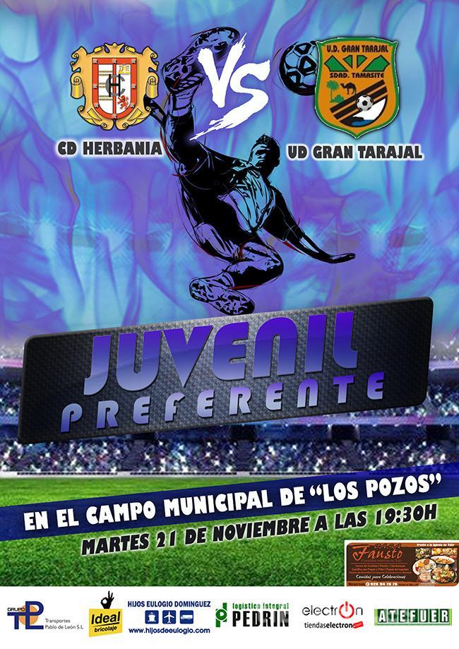 Cartel CD Herbania – UD Gran Tarajal (Juveniles)