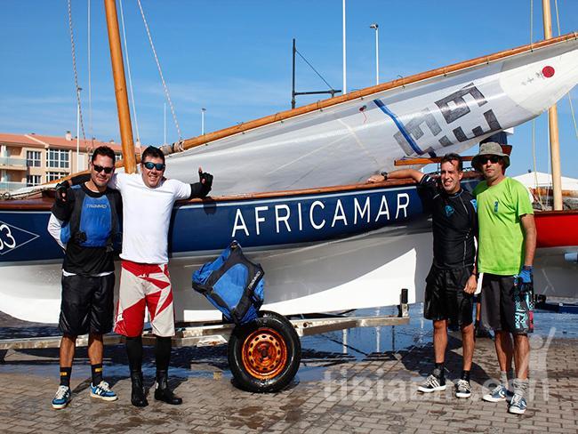 El Congelados Africamar revalida el título de campeón en el Campeonato de Canarias de Vela Latina