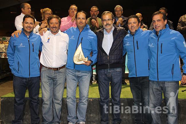 La entrega de trofeos puso el colofón al Campeonato de Canarias de Vela Latina