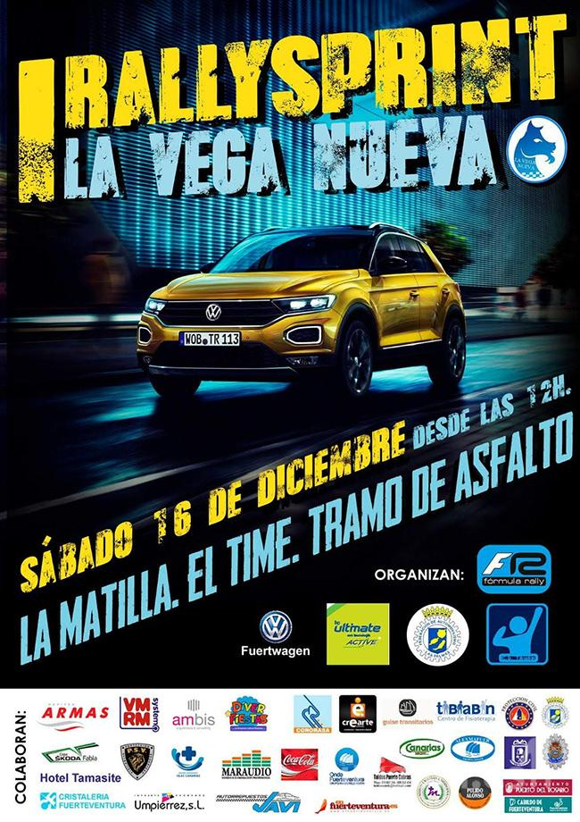 Cartel I Rallysprint La Vega Nueva