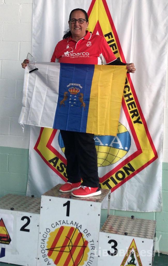 Paqui del Club Maxoarco Campeona de España un año más
