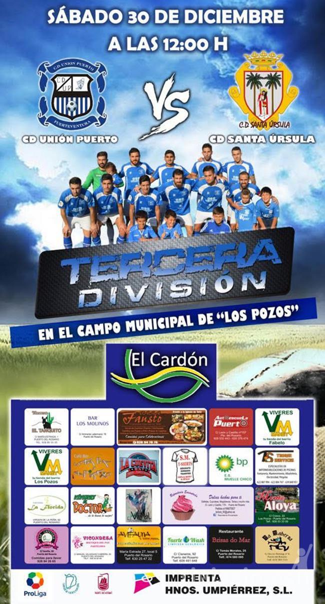 Cartel CD Unión Puerto