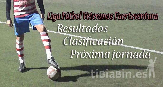 Resultados y Clasificaciones Fútbol Veterano Jornada 6