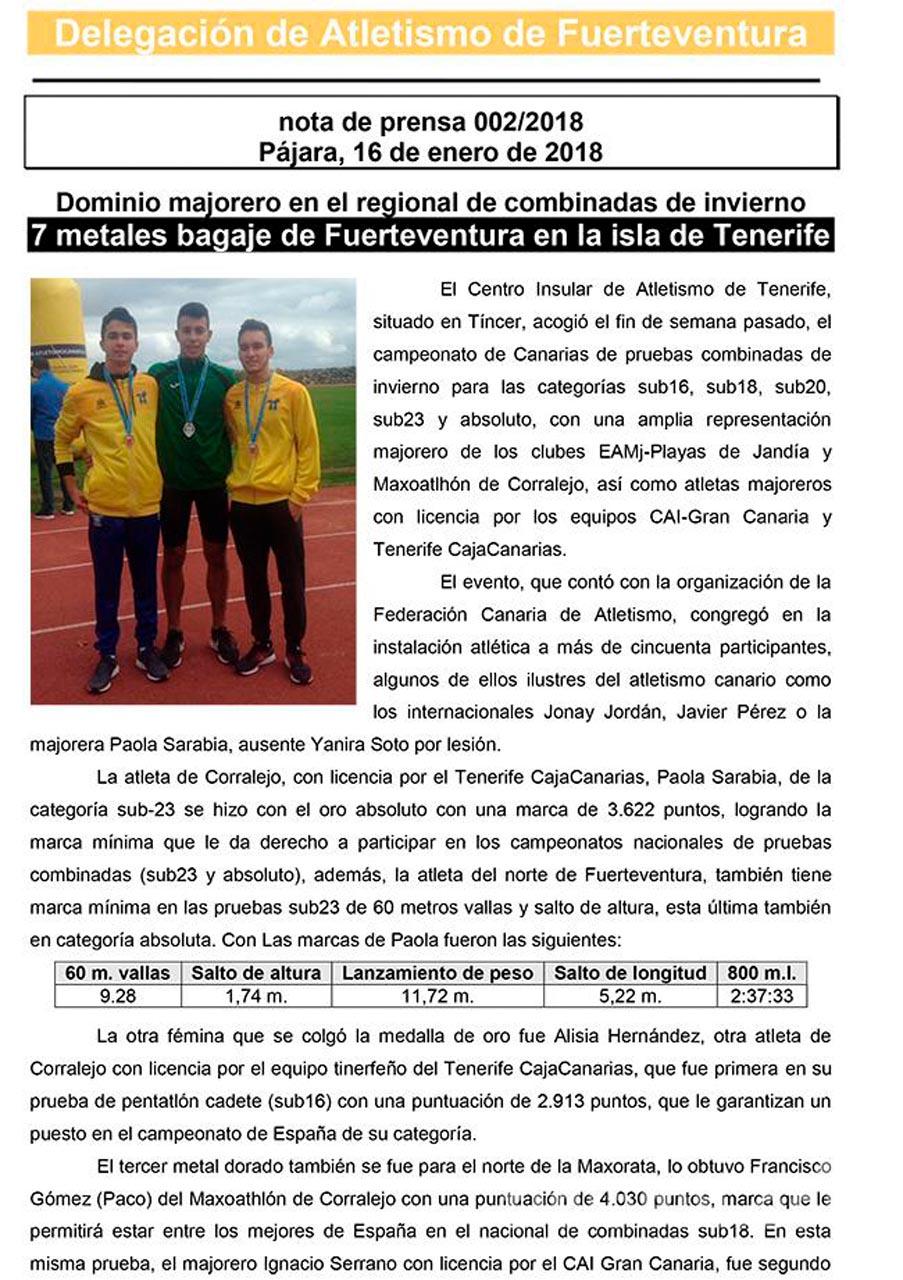 7 medallas para FV en el regional de Combinadas de invierno