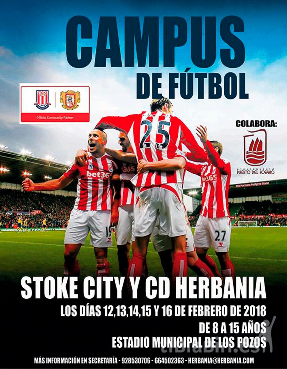 Cartel Campus Stoke City – CD Herbania