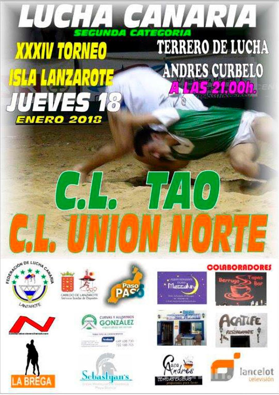 Cartel CL Tao – CL Unión Norte