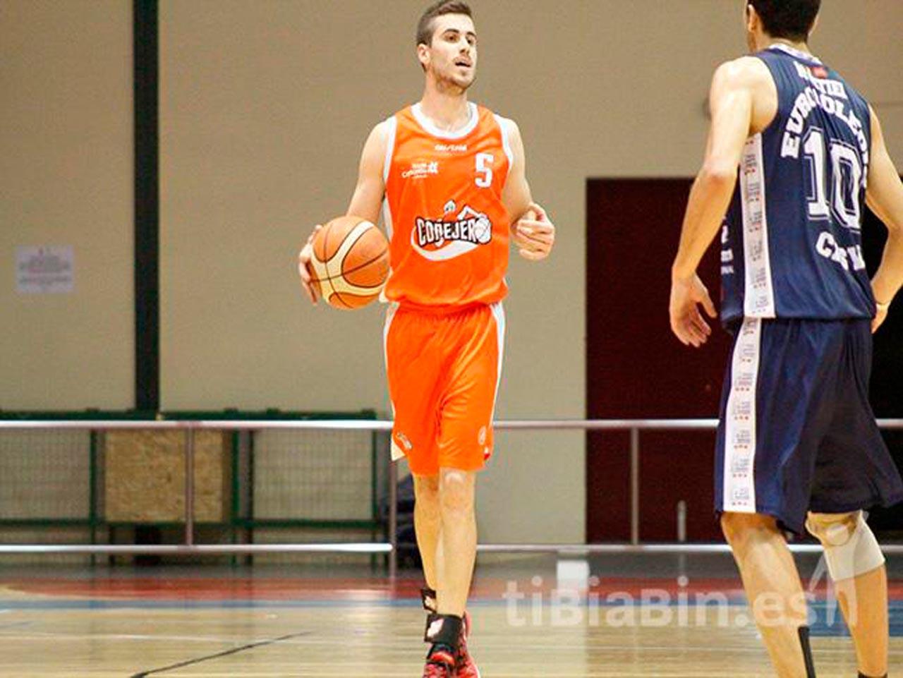 Raúl Rodríguez cumple 50 partidos en la Liga EBA de Baloncesto