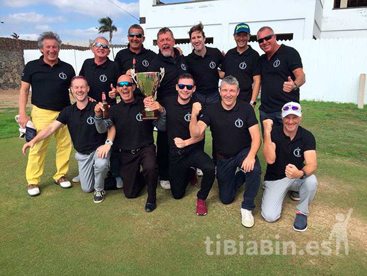 Los británicos consiguen retener la Copa Gibraltar de Golf 2018