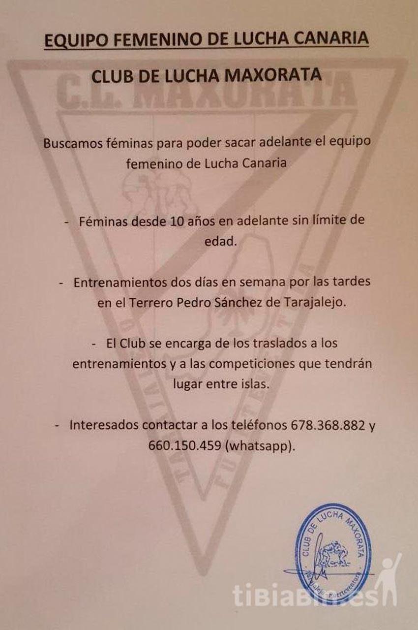 Equipo femenino CL Maxorata