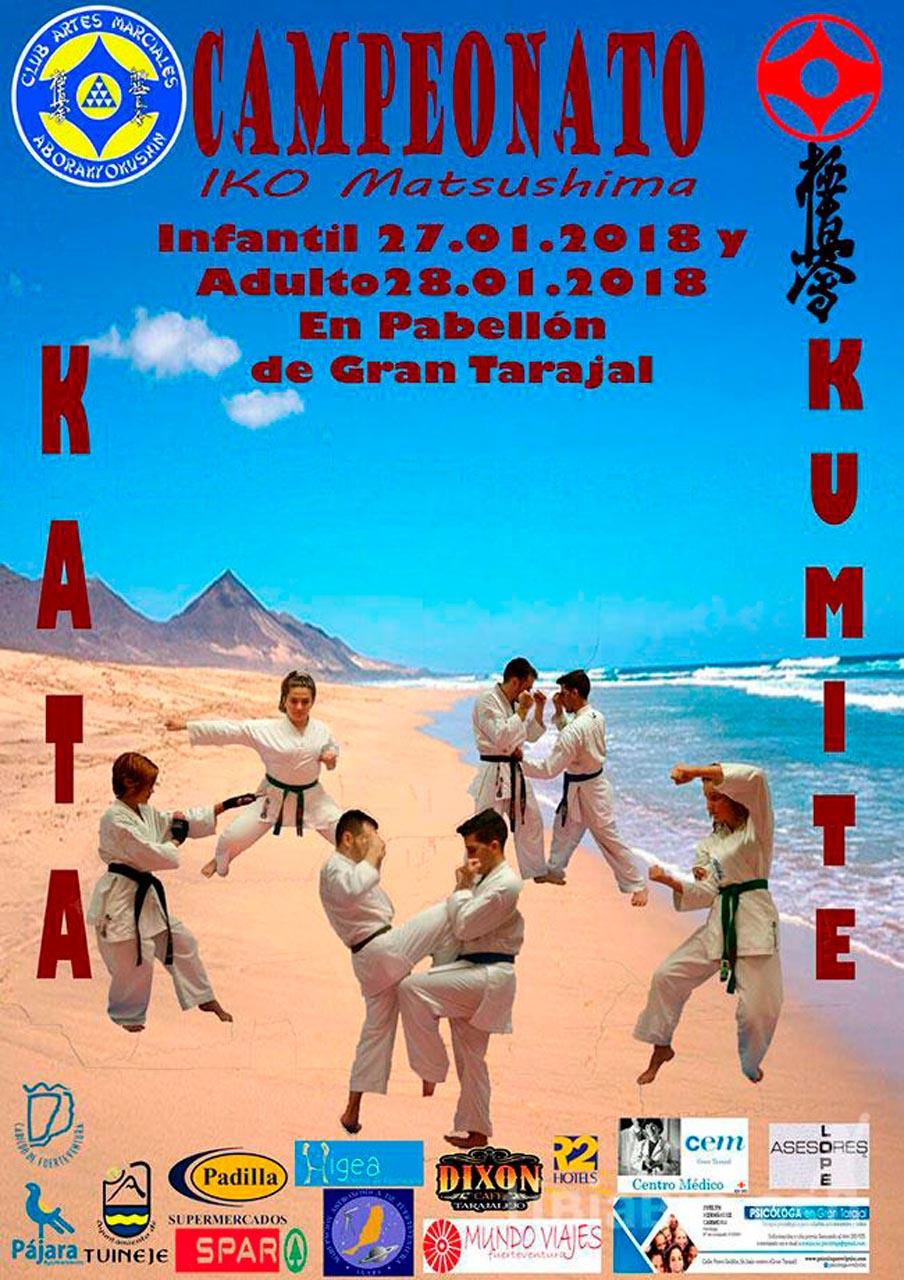 Campeonato IKO Matsushima de Kata y Kumite