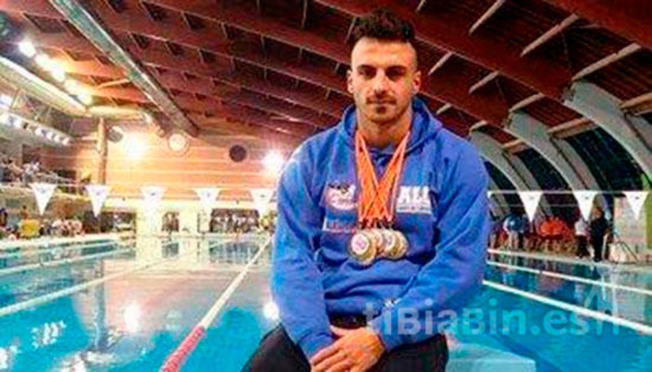 Reconocimiento a Eduardo Blasco por su reciente acreditación como deportista de alto nivel