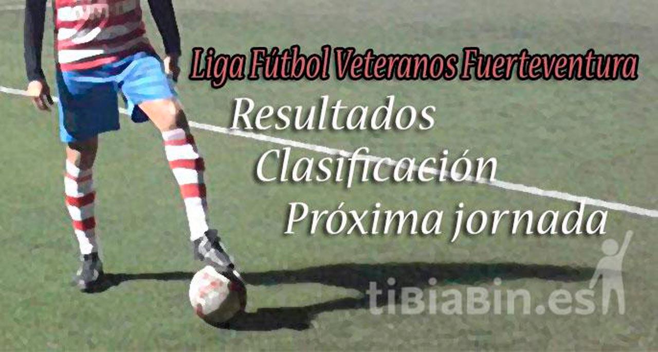 Resultados, clasificaciones y próxima jornada Liga Veteranos
