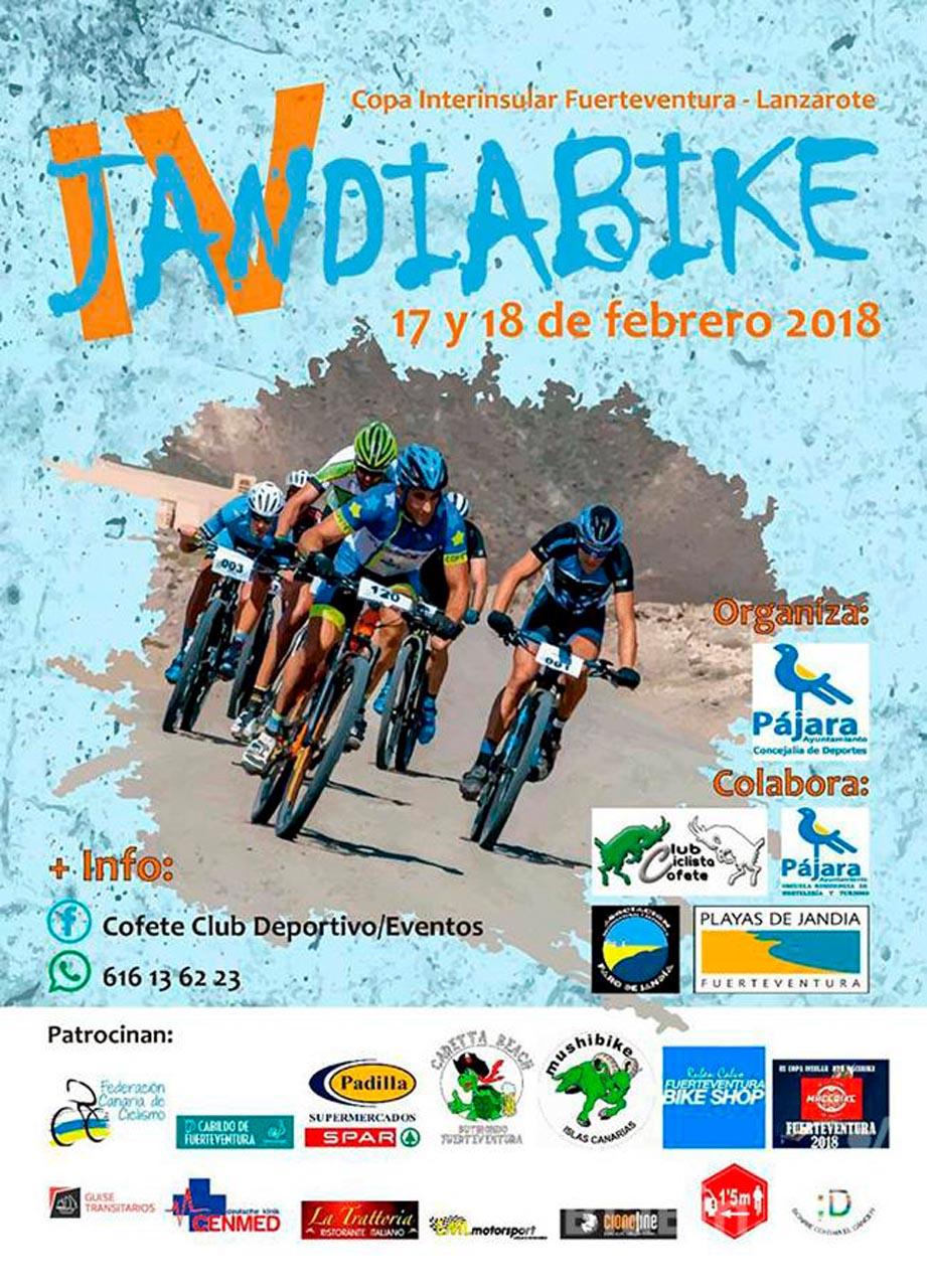 Más de 280 ciclistas participarán este fin de semana en la cuarta edición del Jandía Bike