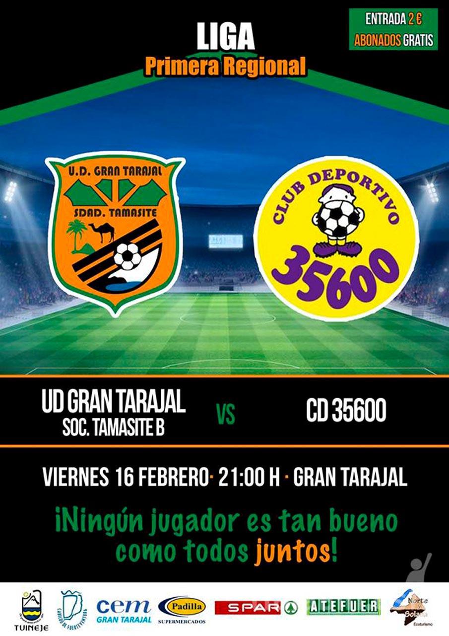 Cartel UD Gran Tarajal – CD 35600