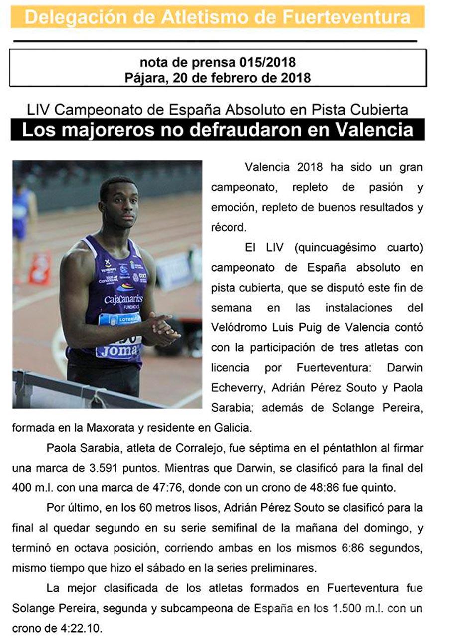 Los majoreros no defraudaron en Valencia