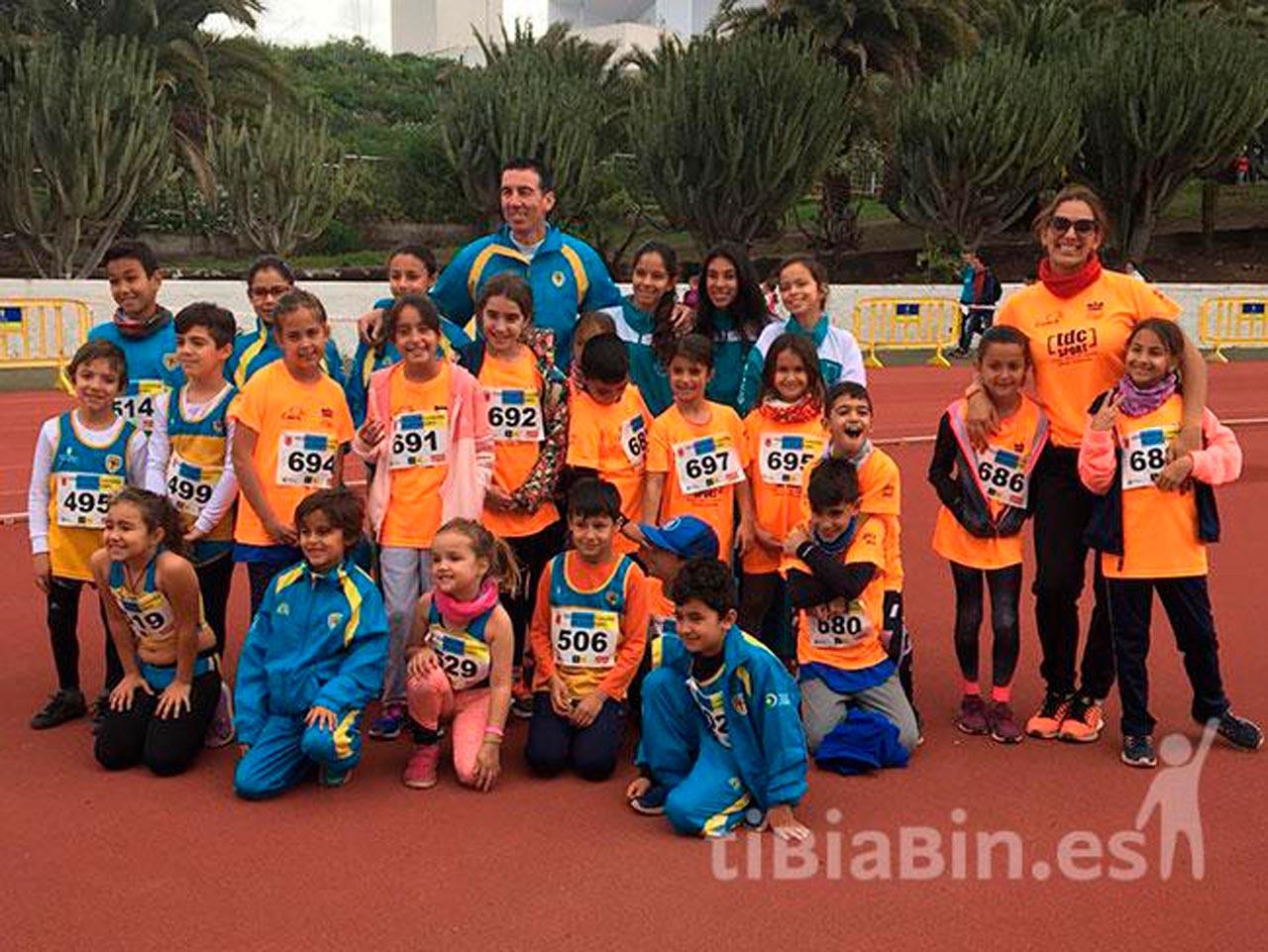 Campeonato de Canarias de campo a través para menores