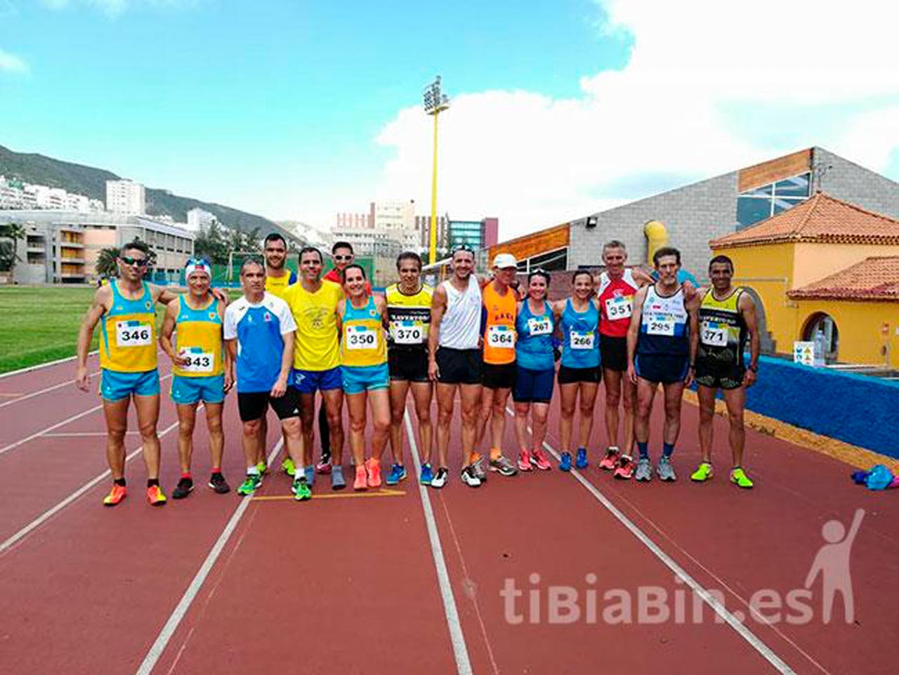 27 medallas para los clubes majoreros en el V Campeonato de Canarias de pista de invierno para Máster