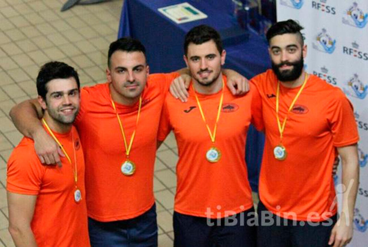 Edu Blasco Campeón de España Absoluto en el Campeonato de España de Salvamento y Socorrismo