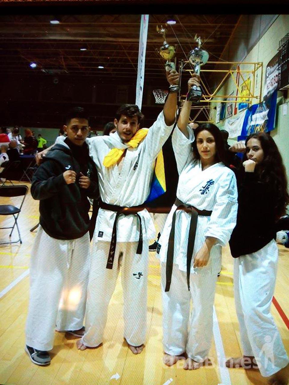 Pájara felicita a los karatecas del C.A.M El Jable por su participación en el Spanish Open de Kárate