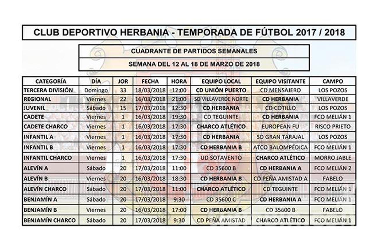 Nota de Prensa CD Herbania