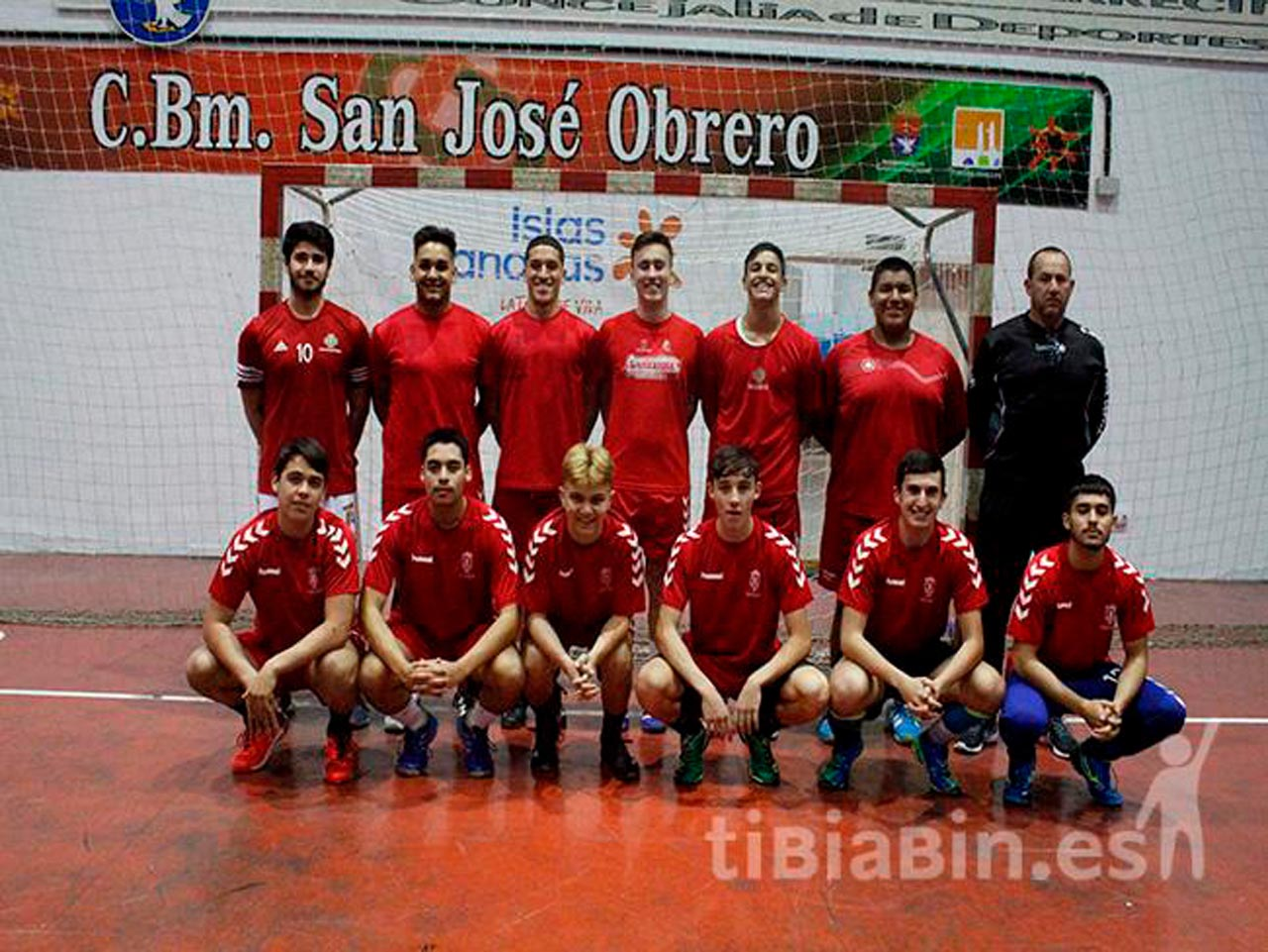 Los juveniles del San José Obrero preparan el Campeonato de Canarias