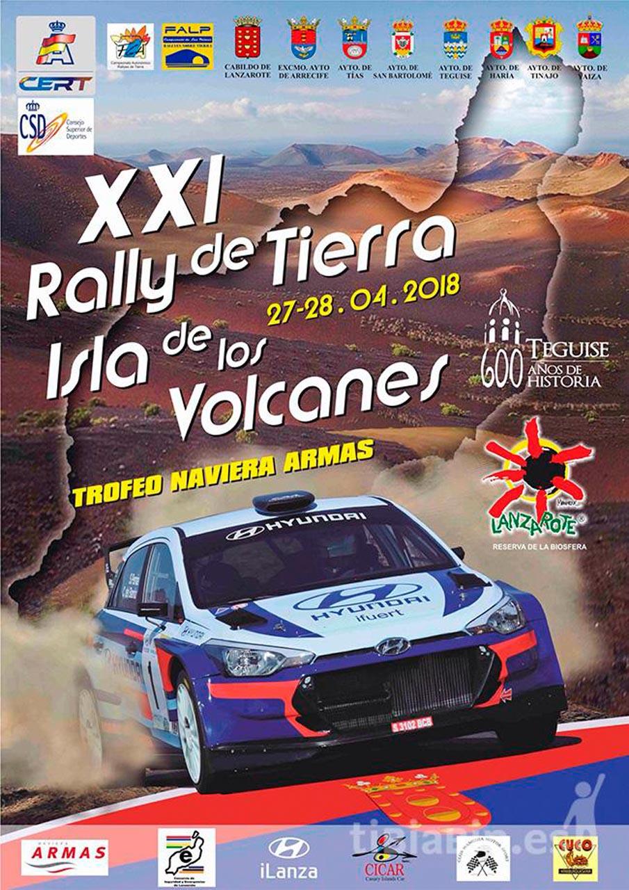 Presentación en Lorca del Rallye de tierra Isla de Los Volcanes
