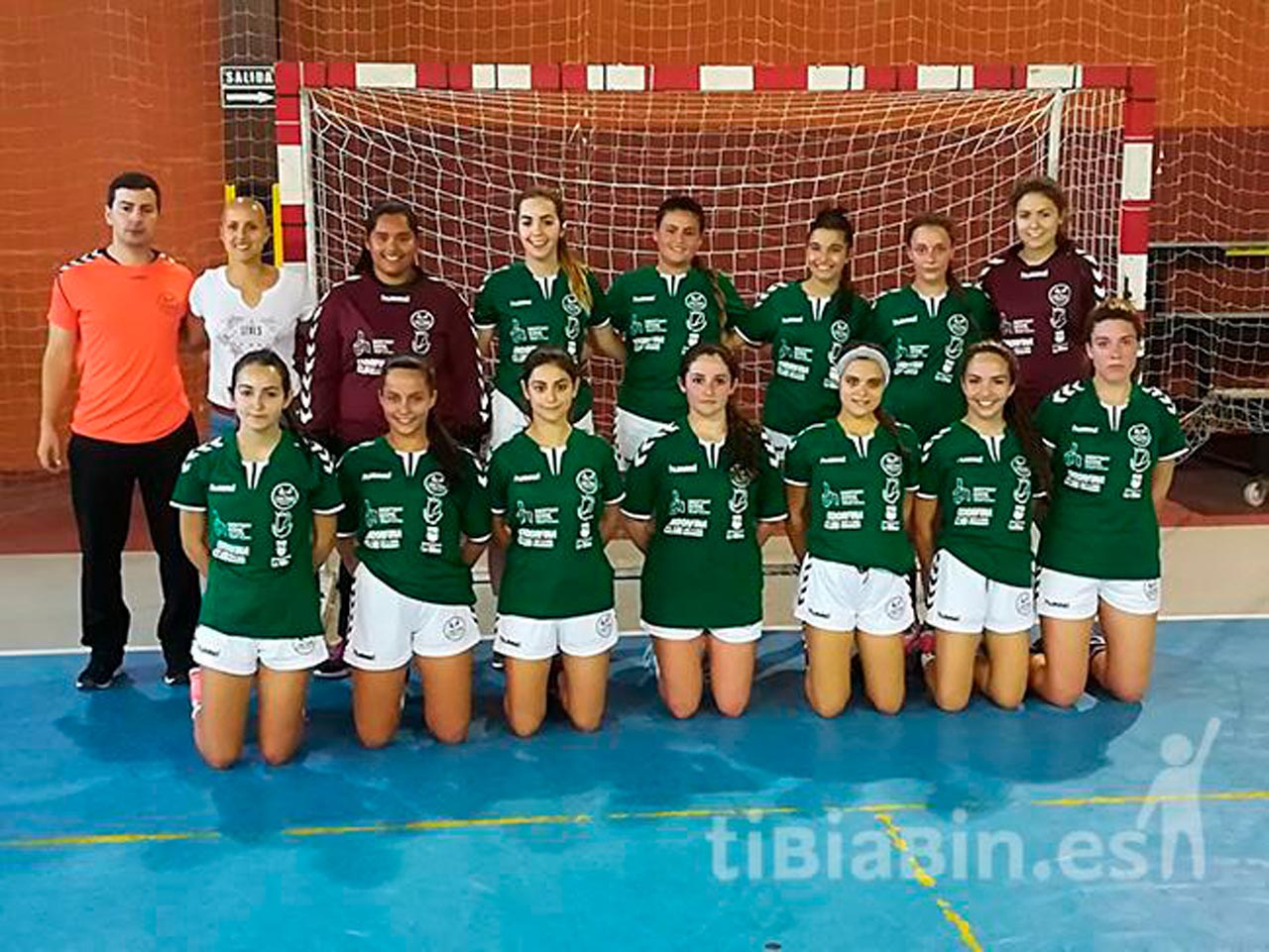 El juvenil femenino del CB Caima Fuerteventura se clasifica para el Campeonato de España de Balonmano