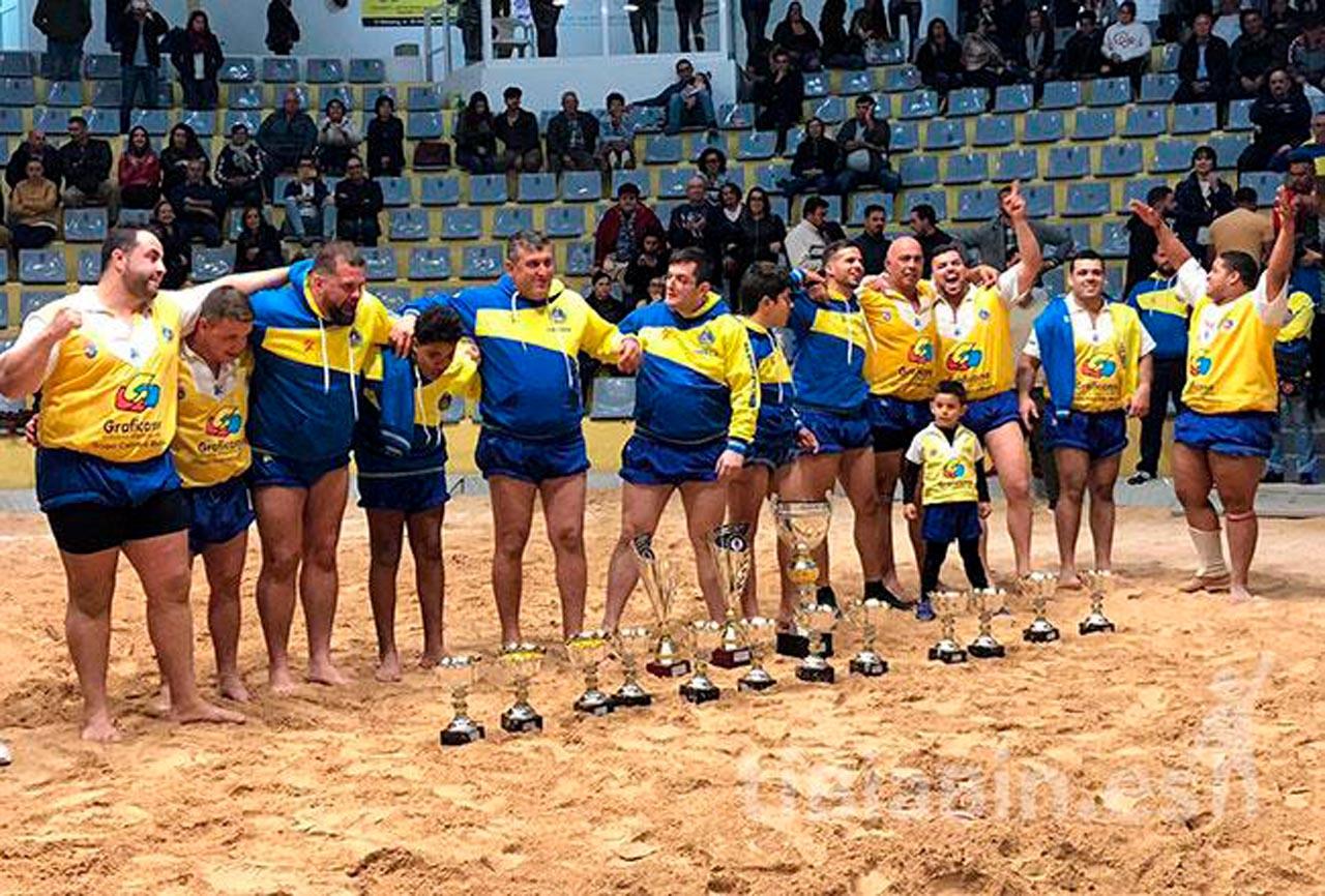 El Unión Sur Yaiza con un Diego Pérez estelar se proclama campeón de Liga