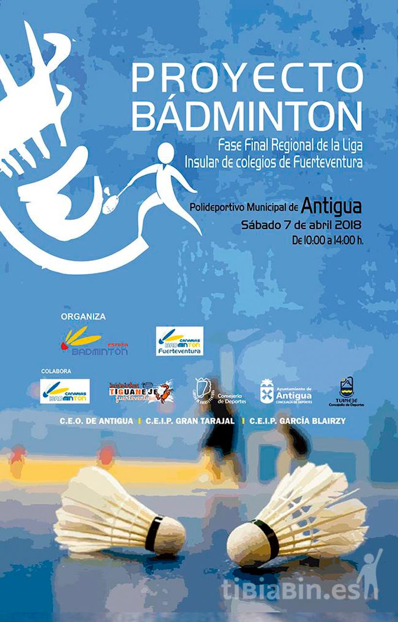 Cartel Bádminton