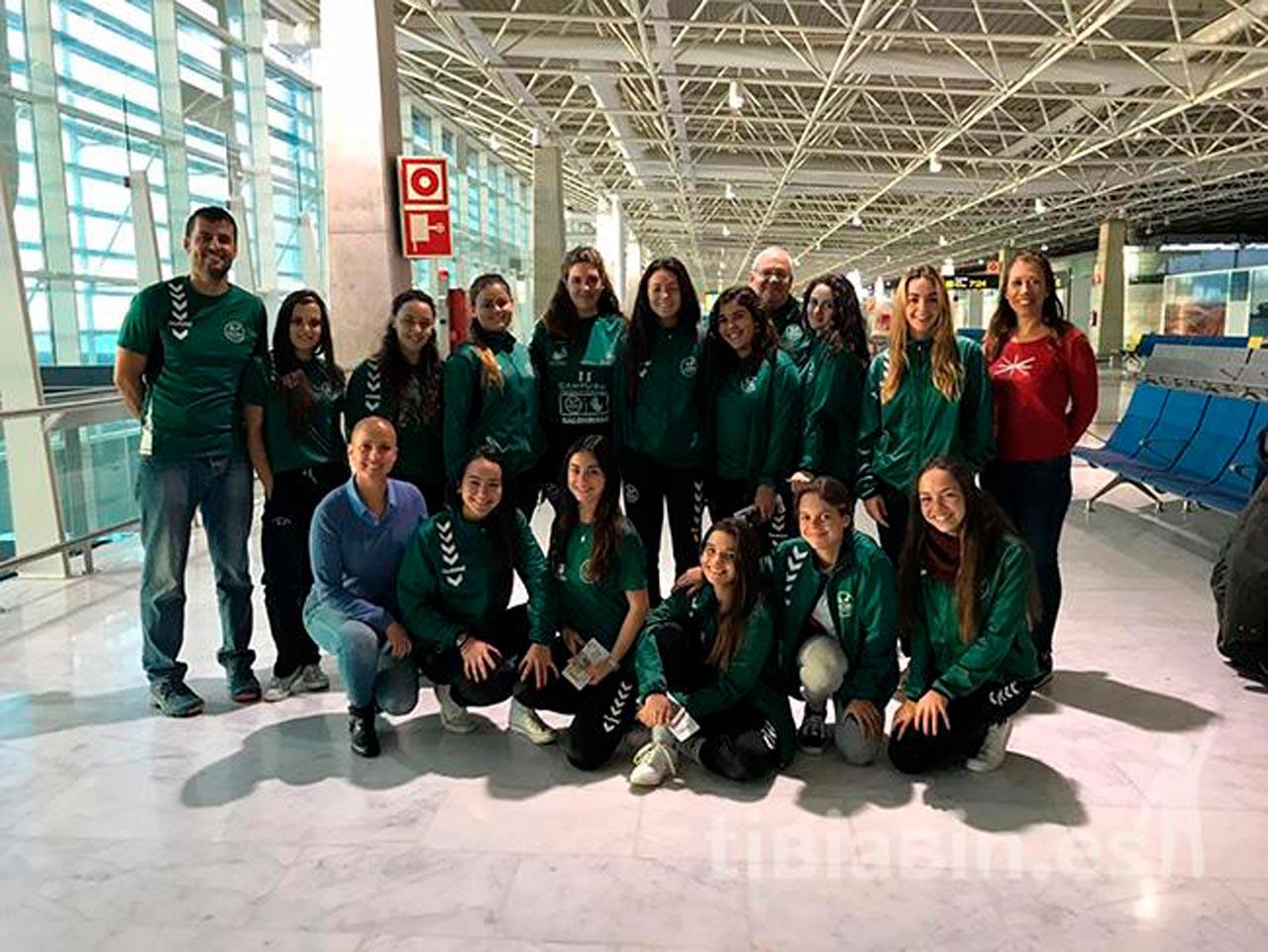 El CB Caima Fuerteventura acude por primera vez a un Campeonato de España de Balonmano