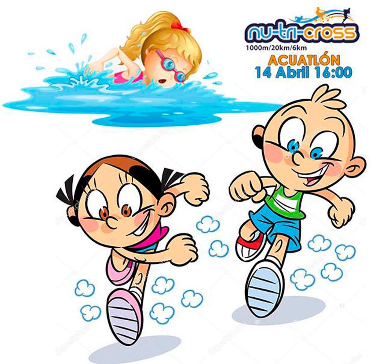El Nutricross contará con un acuatlón para los deportistas más jóvenes