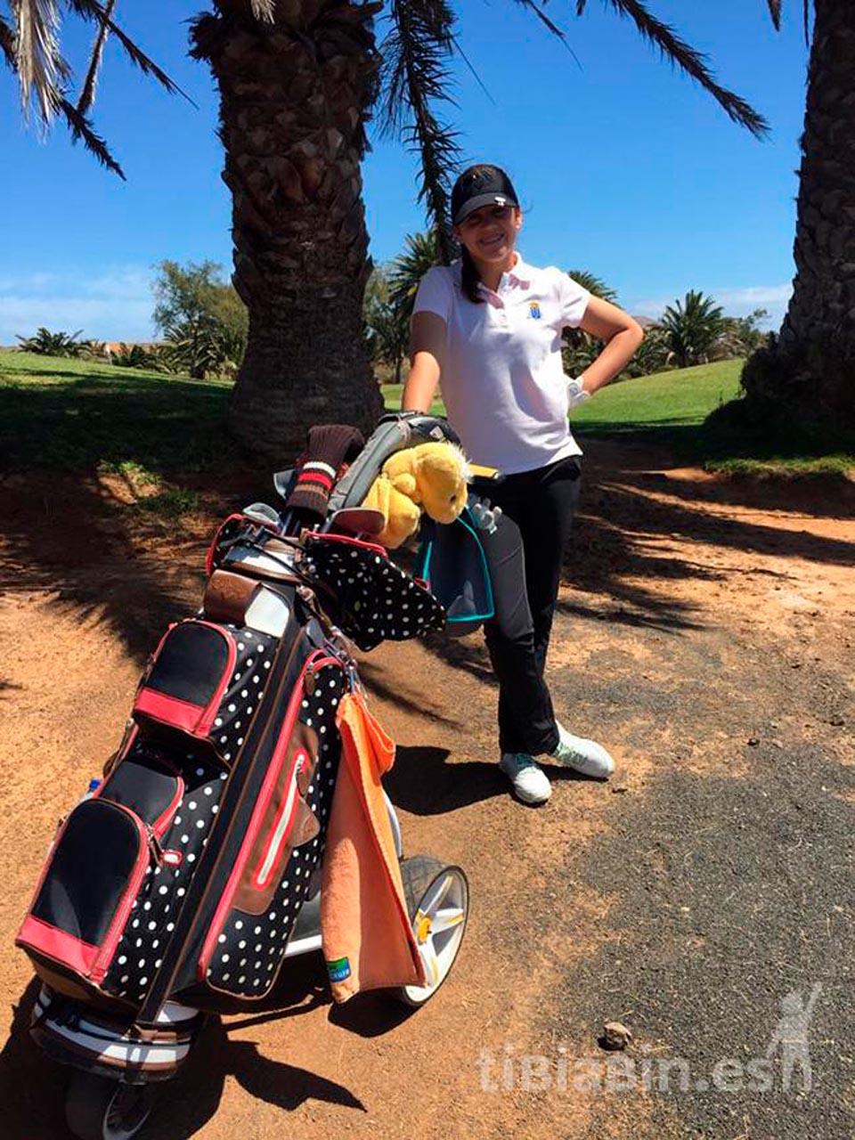 Comenzó la tercera edición del Circuito Infantil Insular de Golf de Lanzarote