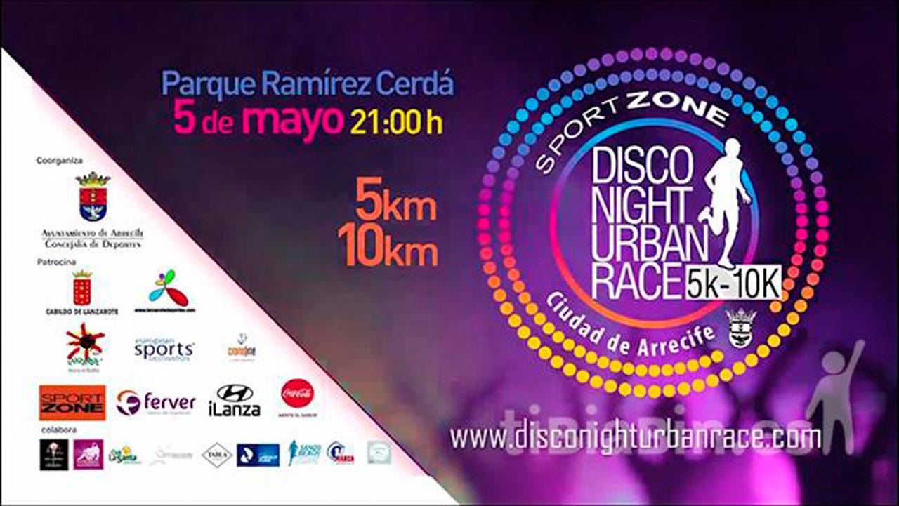 """La Disco Night Urban Race """"Ciudad de Arrecife"""" ya tiene su video promocional"""