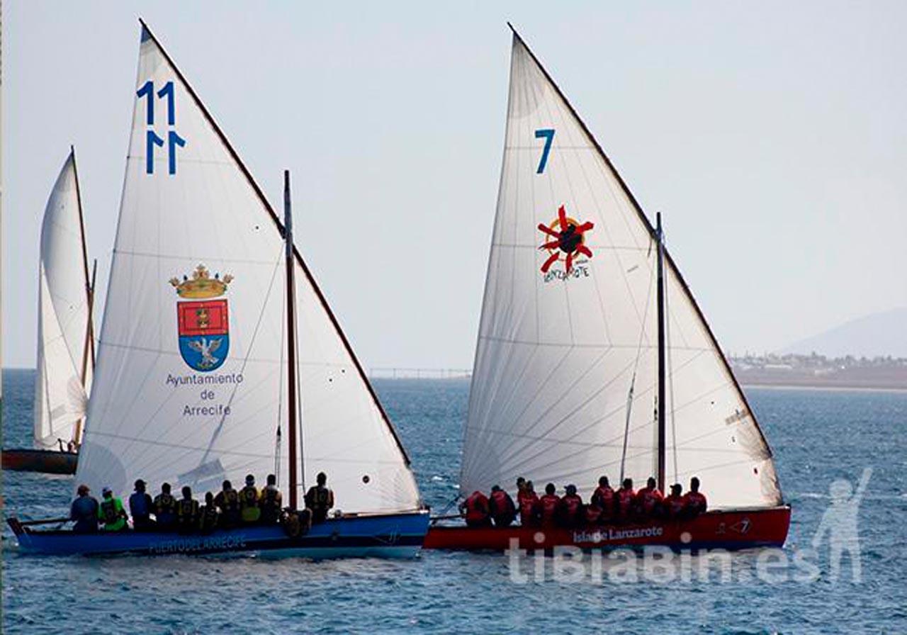 Seis barquillos arrancarán la temporada de 8'55 metros de vela latina