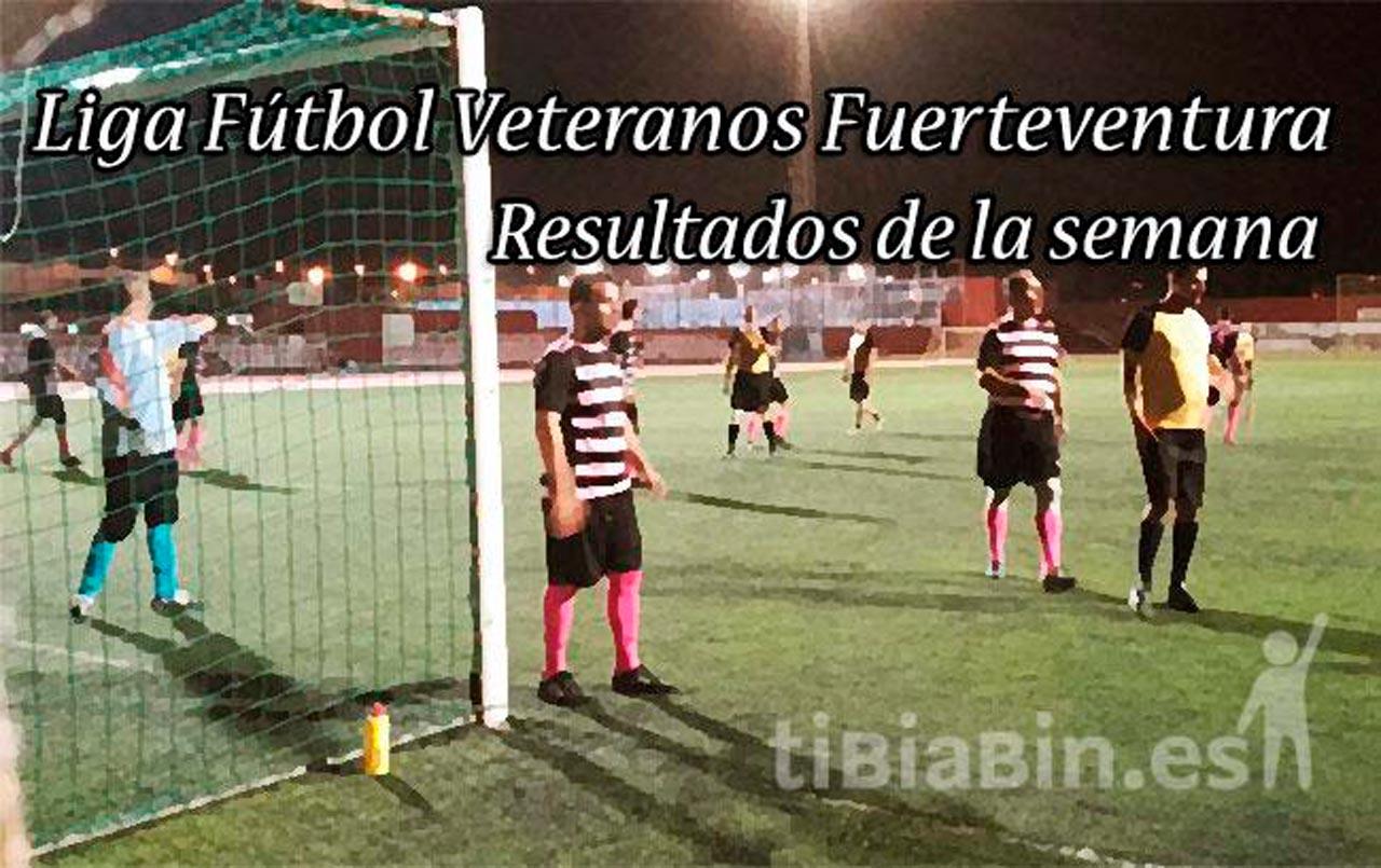 Resultados Liga y Copa Veteranos Jornada 1