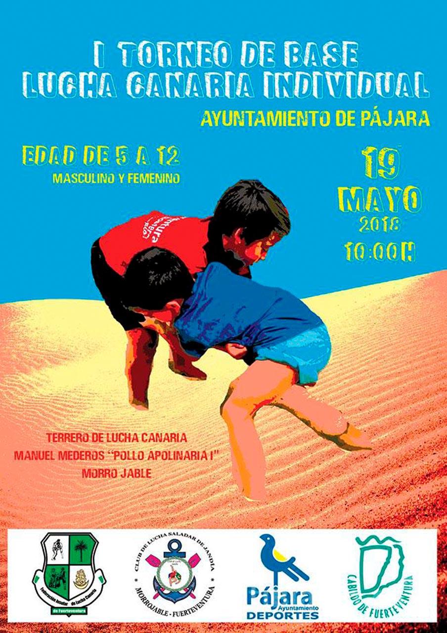 Torneo base de lucha canaria en Morro Jable