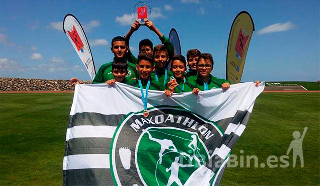 Maxoatlhón de Corralejo Campeón regional sub14 por equipos