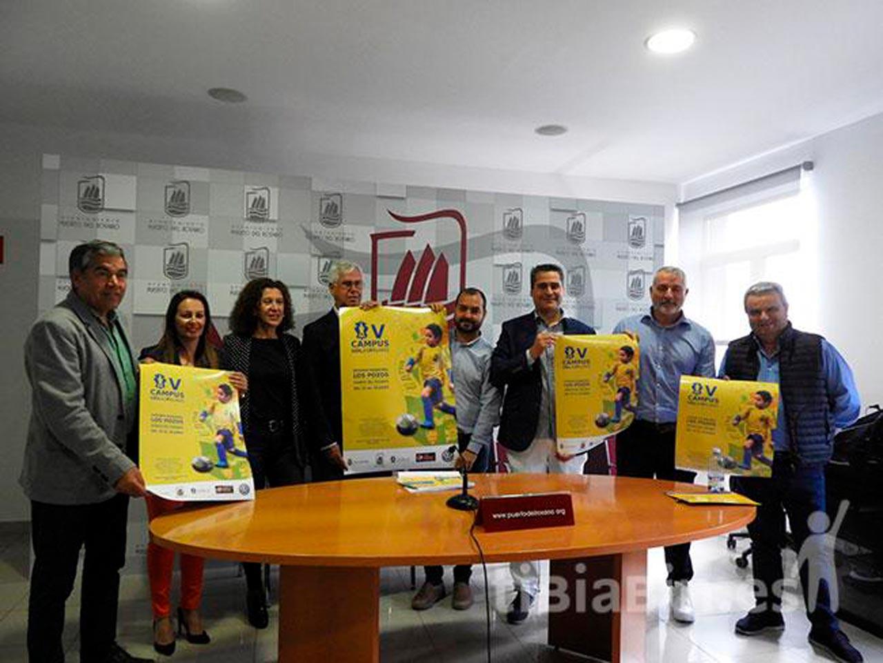 El Campus de la UD Las Palmas, una experiencia de formación deportiva y en valores, vuelve a Puerto para quedarse