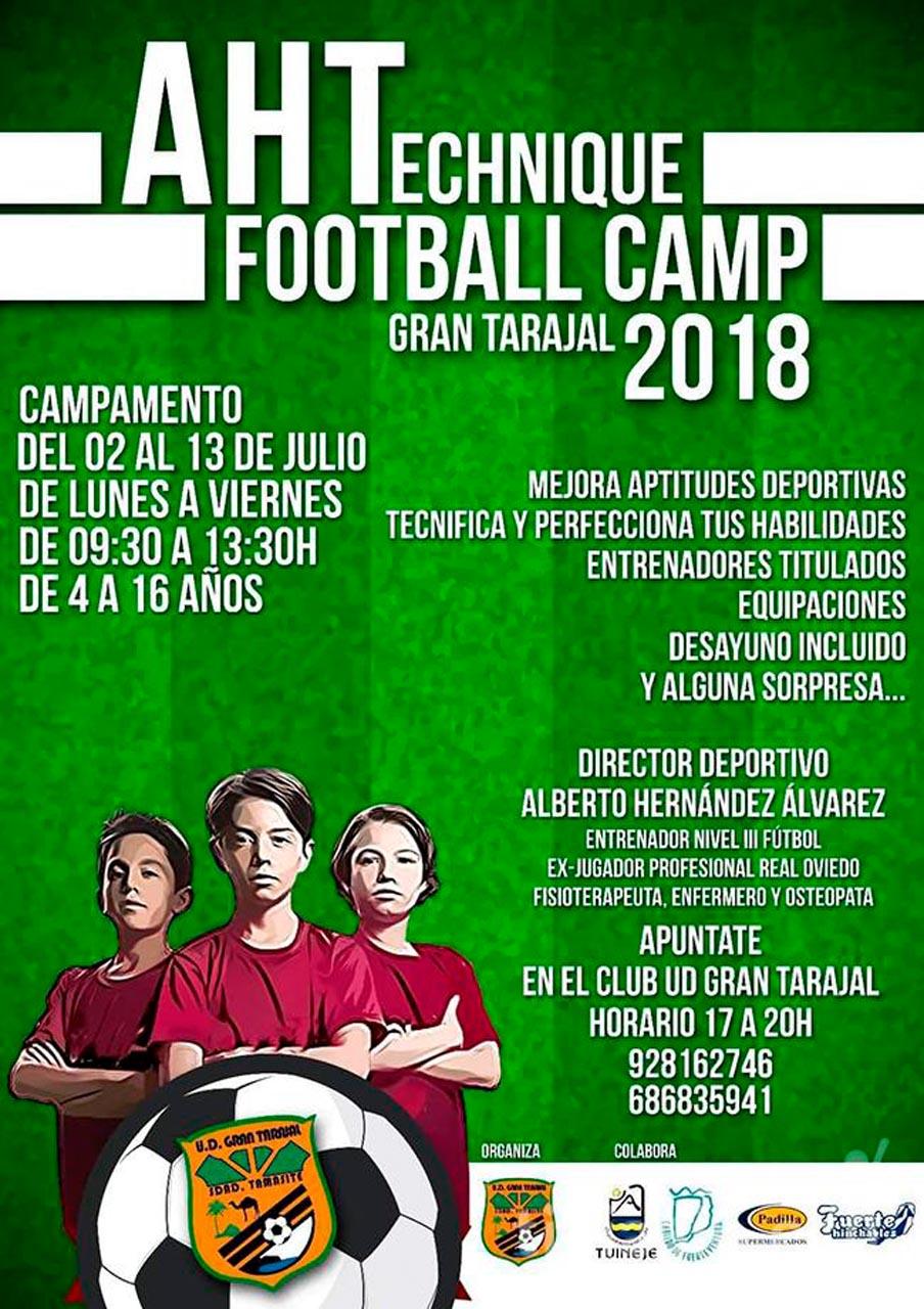 AHTechnique Football Camp Gran Tarajal 2018