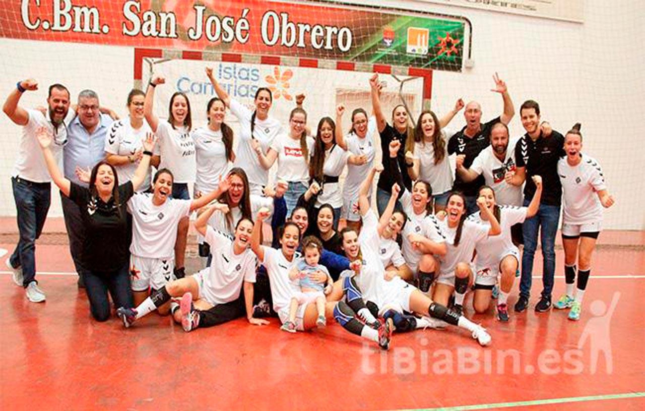 El San José Obrero gana al Ikasa Madrid y logra el ascenso a la DH Plata Femenina